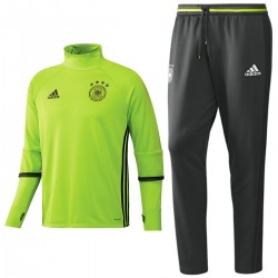 Germany training technical tracksuit Euro 2016 fluo - Adidas