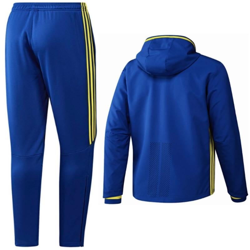 7396c93509dfe ... Chándal de presentacion seleccion España Euro 2016 azul - Adidas ...