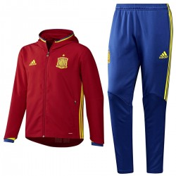 Spain football presentation tracksuit Euro 2016 - Adidas