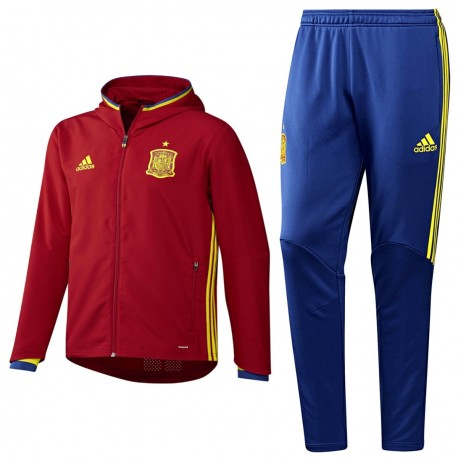 differently 5585e 516c8 Spain football presentation tracksuit Euro 2016 - Adidas