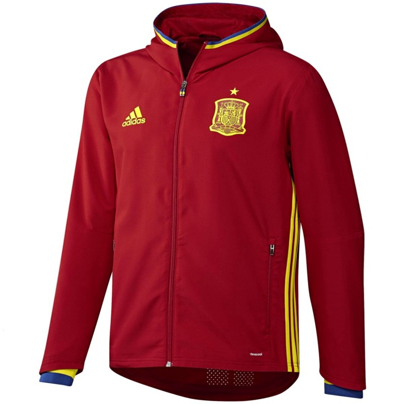 big sale 9499f 1fee2 ... Spain football presentation tracksuit Euro 2016 - Adidas
