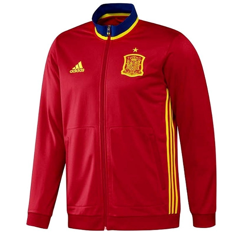 wholesale dealer 41115 409a9 ... Spain training tracksuit Euro 2016 - Adidas