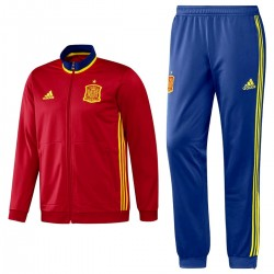 Spain training tracksuit Euro 2016 - Adidas