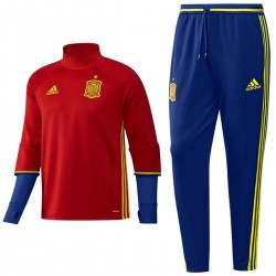 Spain training technical tracksuit Euro 2016 - Adidas