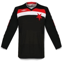 Slavia Prague Away shirt 08/10 by Umbro-long sleeves