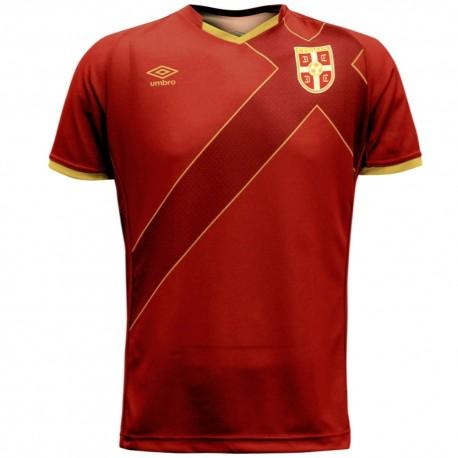 Serbia national team Home football shirt 2015 - Umbro