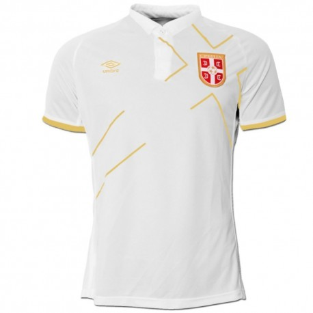 Serbia national team Away football shirt 2015 - Umbro