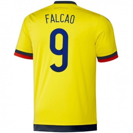 Colombia Home football shirt 2015/16 Falcao 9 - Adidas