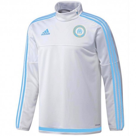 Olympique de Marseille technical training top 2015/16 white - Adidas