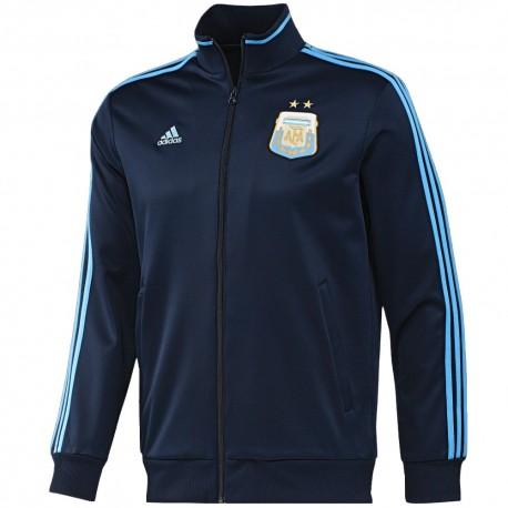 Chaqueta azul de presentacion Argentina 2015 Adidas