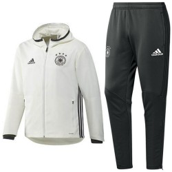 Germany football presentation tracksuit Euro 2016 white - Adidas