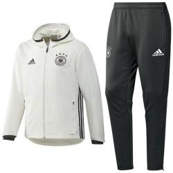 Survetement de presentation Allemagne Euro 2016 blanc - Adidas