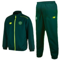 Survetement de presentation vert Celtic Glasgow 2015/16 - New Balance