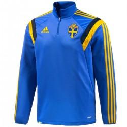 Formación del equipo nacional de Suecia cremallera superior 2014 - Adidas
