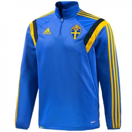 Felpa tecnica allenamento Nazionale Svezia 2014 - Adidas