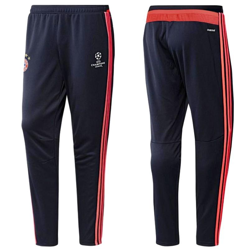 Pantalon tecnico de entreno Champions League Bayern Munich 201516 Adidas