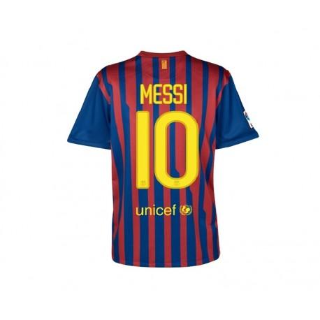 FC Barcelona Trikot Home Messi 10 11/12 von Nike