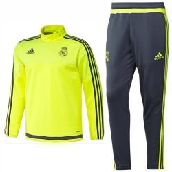 Survetement technique d'entrainement Real Madrid 2015/16 fluo - Adidas