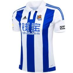 Camiseta de futbol Real Sociedad primera 2015/16 - Adidas