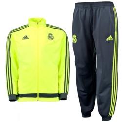 Survetement jogging d'entrainement fluo Real Madrid 2015/16 - Adidas