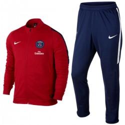 Survêtement rouge d'entrainement Paris Saint Germain PSG 2016 - Nike