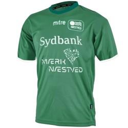 Camiseta de futbol Naestved (Dinamarca) primera 2014/15 - Mitre