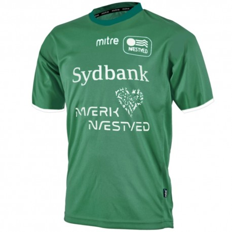Naestved (Denmark) Home Football shirt 2014/15 - Mitre