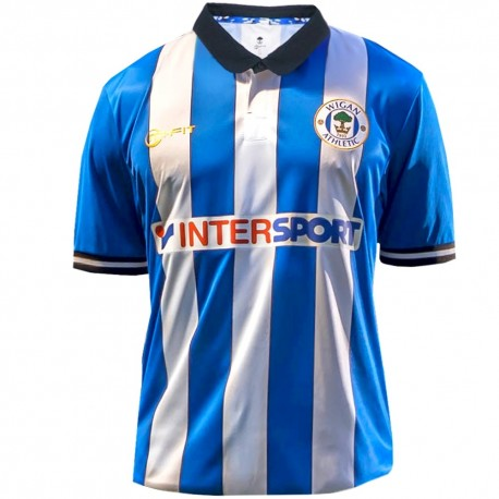 Wigan Athletic Home football shirt 2014/15 - Mi-fit