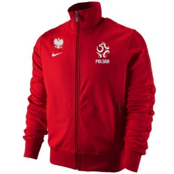 Poland N98 red presentation jacket 2012/13 - Nike