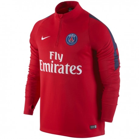 PSG Paris Saint Germain training technical sweat top 2016 red - Nike