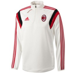 Tech sweat top d'entrainement AC Milan 2014/15 - Adidas