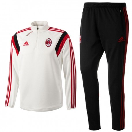 37852529aea25 Chandal tecnico entrenamiento AC Milan 2014 15 - Adidas ...