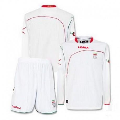 Football kit (shirt and shorts) Iran National Home 2010/11 - Legea