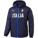 Italy training bench jacket 2016/17 navy - Puma