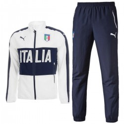 Italy national team presentation tracksuit 2016/17 white - Puma
