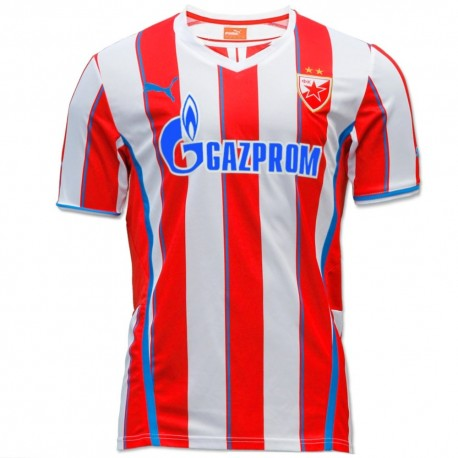 Red Star Belgrade (Beograd) Home football shirt 2013/14 - Puma