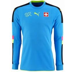 Camiseta de portero seleccion Suiza 2016/17 light blue - Puma