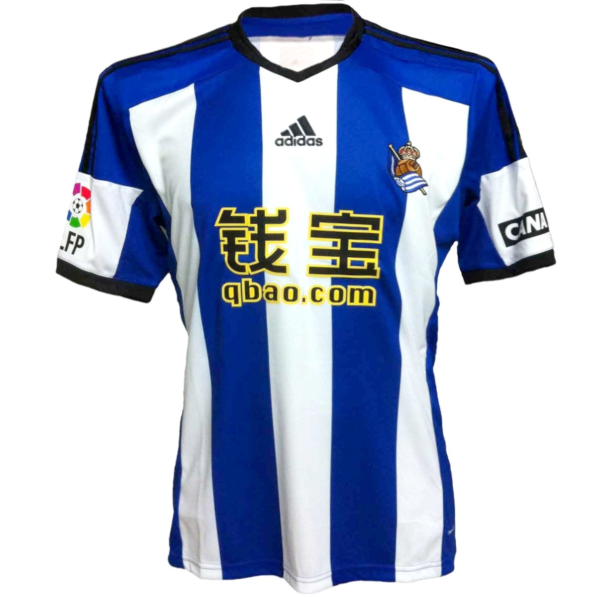 Disipación Calibre Esquiar  Camiseta de futbol Real Sociedad primera 2014/15 - Adidas - SportingPlus.net