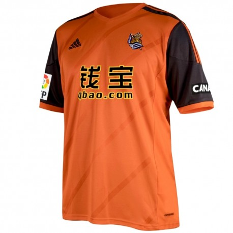 Real Sociedad Away football shirt 2014/15 - Adidas