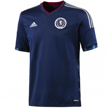 Scotland Player Issue Home football shirt 2014/15 - Adidas
