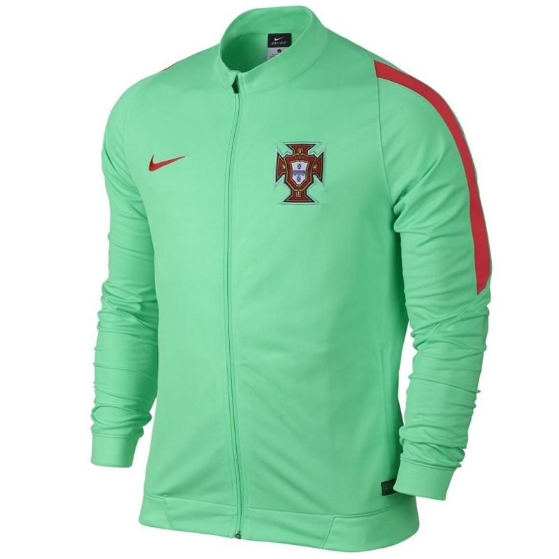 Portugal Fussball N98 präsentationsjacke 201617 green