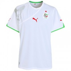 Algerien nationale home Jersey 10/12-World von Puma