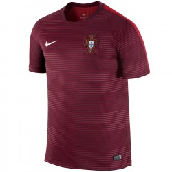 Portugal football team pre-match training shirt 2016/17 - Nike