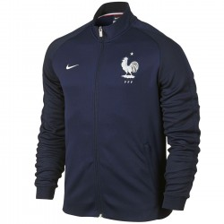 France football N98 presentation jacket 2016/17 navy - Nike
