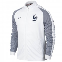 France football N98 presentation jacket 2016/17 white - Nike