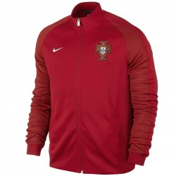 Portugal football N98 presentation jacket 2016/17 red - Nike