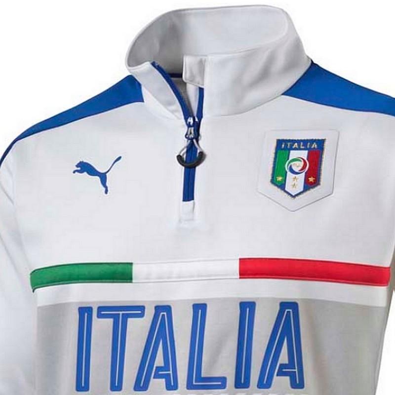 Tuta tecnica allenamento nazionale Italia 2016 17 bianca - Puma ... 4fc21456078a5