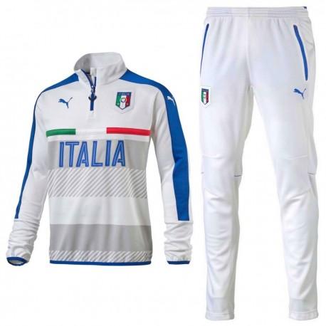 Survetement Tech d'entrainement Italie 2016/17 blanc - Puma