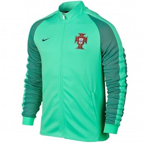 Portugal football N98 presentation jacket 2016 17 green - Nike ... 57396d9eb0d7f