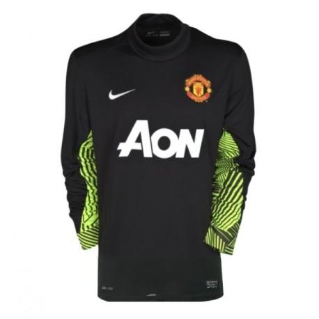 Camisa fuera portero del Manchester United 11/12 por Nike